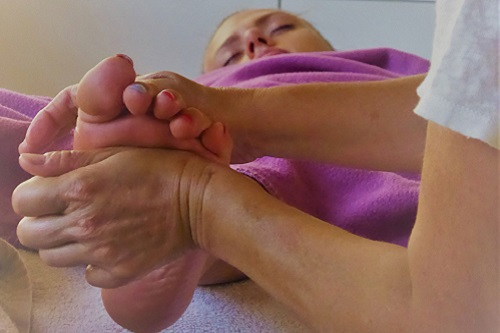 massage des pieds à lyon 3