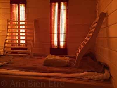 Sauna infrarouge Aria Bien Etre