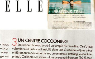 Magazine ELLE – Cahier Rhône Alpes – mai 2017